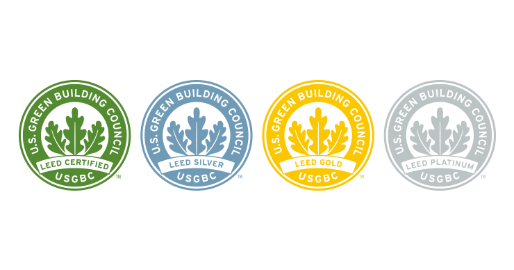 Credit Score Levels >> A Guide to LEED Certifications – KC Engineering and Land ...